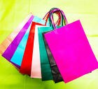 Small Paper Party Bags Luxury Bags Kraft Paper Gift Bag Twisted Handles Loot Bag