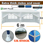 'Dayplus 3x6m Gazebo Market Stall Party Tent Heavy Duty Marquee Heavy Duty Uk
