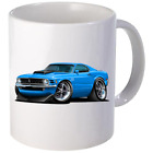 1970 Ford Boss 429 Mustang Coffee Mug 11oz 15 oz Ceramic NEW image