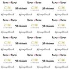 background Gold LOGO custom made Date Repeat wedding photography backdrops 7x5ft