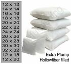 Filled Cushion Inner Inserts Pads Large Hollowfibre 18 22 24 26 28 30 inch