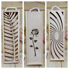 Wooden Wine Box Laser Cut Box Lided Case Storage Wedding Favour Mothers Day Gift