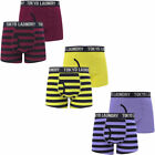 New Mens Tokyo Laundry Mission 2 (2 Pack) Striped Boxer Shorts Set Size S - XXL