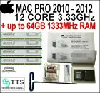 16-64GB MEMORY  3.33GHz 12 Core Upgrade kit 2010,2012 Apple Mac Pro 5,1 twelve