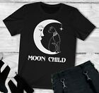 WITCH Goth Wicca Women T Shirt- Moon child shirt Occult Gothic Clothing
