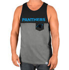 Men's Carolina Panther's Throw the Towel Pocket Tank Top by Majestic Size M XL on eBay