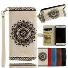 Premium Flip Slim Leather Wallet Card Slots Stand Case Cover For Various Phone