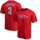 Bryce Harper Philadelphia Phillies Majestic Authentic Youth Jersey T Shirt Boys