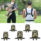 Dog Carrier Comfortable Legs Out Front Pet Carrier Backpack With Tail Hole