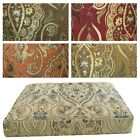 Box Shape Seat/Back Cover*Damask Chenille Chair 3D Cushion Case*Custom Size*Wk5