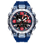SMAEL Men Sport Watch Dual Display Digital LED Electronic Male Quartz Wristwatch image