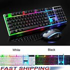 Rainbow Keyboard Mouse Set for PS4 PS3 Xbox One and Xbox 360 Gaming Backlight