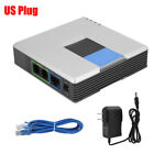 Unlocked VoIP Gateway Router ATA linksys PAP2T For 2-Ports Phone Adapter JS