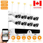 JOOAN 4CH 8CH Wireless 1080P Outdoor WiFi IP Camera CCTV Home Security System 1T