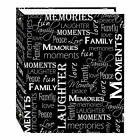 Magnetic Self Stick 3 Ring Photo Album 100 Pages 50 Sheets Hunter Green
