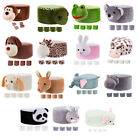 Внешний вид - Soft Stuffed Animal Design Stool Cover Footstool Covers Living Room Decor