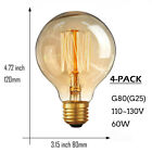 Edison Vintage Light Bulbs 60W Old Fashioned Retro Style Filament Lamp Bulb
