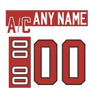IIHF Hockey 2007 Team Canada White Jersey Customized Number Kit un stitched
