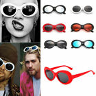 Clout Goggles Sunglasses Women Retro Oval Shades Grunge Unisex Goggles UV400 New