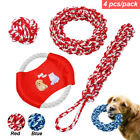 Cotton Rope Braided Indestructible Dog Toys Large Dog Bite Chew Interactive Toys