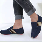 Mens Casual Suede Leather Slip On Driving Moccasins Loafers Flat Boat Shoes