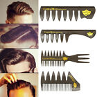 Unisex Wide-toothed Comb for Brush Hair Styling Barber DIY Mini Brush Portable