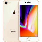 APPLE IPHONE 8 - 64GB - 256GB SPACE GRAU SILBER GOLD ROT OHNE SIMLOCK TOP HANDY