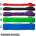 NEW Resistance Bands Natural Latex Loop Pull Up Assist Band Exercise Gym Fitness image