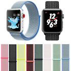 Nylon Sports Loop iWatch Band Strap 38/40/42/44mm For Apple Watch Series 4 3 2 1