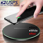 Qi Fast Wireless Charger Dock For iPhone X 8 XR XS/LG G7 G8 V30S V35 V50 ThinQ