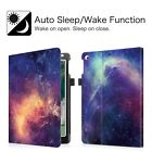 For Apple iPad Folio Case Cover Stand Multiple Angles with Pocket Wake/Sleep