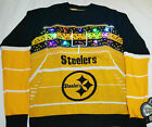 Pittsburgh Steelers NFL Light-Up Ugly Christmas Sweater New