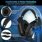 Casque Gaming Jeu Gamer 3.5mm MIC Stéréo Basse LED PC Xbox One Laptop PS4 Switch