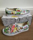 VANS Authentic Peanuts X Comics Snoopy Mens Skate Trainers - Brand New - Limited