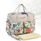Fashion Travel portable Mummy Handbag Multi-function Baby Diaper Large Capacity