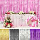 Kyпить Metallic Foil Fringe Curtain Tinsel Photo Backdrop Party Birthday Decor 3*8FT на еВаy.соm