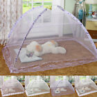 New Summer Portable Folding Pop up Baby Mosquito Net Bed Canopy Tent Crib Travel image