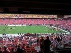 2 DETROIT LIONS @ Redskins 35 yd line ... sec 220 row 8 aisle covered on eBay