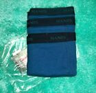 3 BLUE OR 3 BLACK & GRAY MENS HANES BRIEFS 100% COTTON SIZE 6XL 6XLARGE NWT