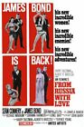 From Russia With Love James Bond 007 Movie Poster SM MD LG FREE SHIPPING $11.99 USD on eBay