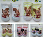 DISNEY Baby Newborn Infant Bootie Socks Mickey Mouse NWT 2nd pair ships  0.50
