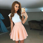 Summer Women Lace Short Dress Cocktail Party Evening Formal Ball Gown Prom Mini