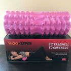 """Foam Massage Roller MuscleTissue Recovery Sport Tool Fitness 13"""" PINK Only image"""