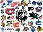 3 Pack of Officially Licensed NHL Name & Logo Hockey Vending Stickers