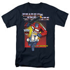 The Transformers Optimus Prime 80's Cartoon Officially Licensed Adult T-Shirt image