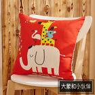 Cartoon Sanding For Car 1PC Sofa Pillow Cover Cushion Printed Animal Pillow Case