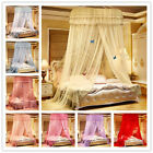 Princess Bed Canopy Netting Curtains Mosquito Net Dome Tent Twin Full Queen King image