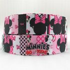 "GROSGRAIN MOUSE BOW TOON Mouse Clubhouse 1"" INCH RIBBON FOR HAIR BOWS"