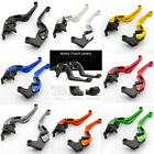 3D Camber Rhombus Brake Clutch Levers For Honda CBR Kawasaki ZX Nina Yamaha YZF $29.99 USD on eBay