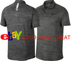 NIKE TIGER WOODS TW DRY HEATHER RAGLAN GOLF POLO SHIRT 932425-010 SIZE MEDIUM